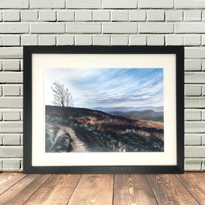 Penistone Hill Haworth Print