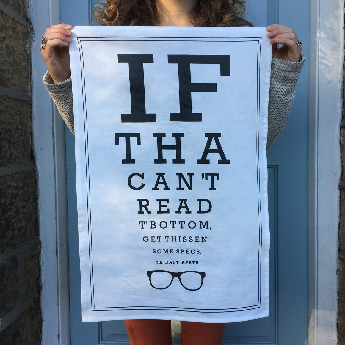 Yorkshire Tea Towel Optician