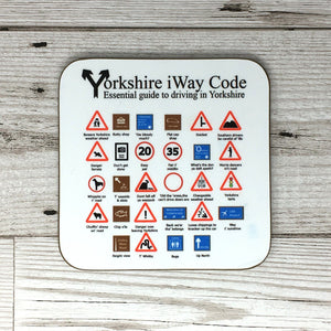 Yorkshire Highway Code Coaster