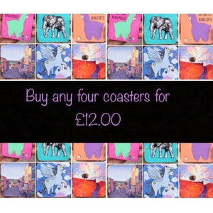 Mix & Match Any 4 Coasters OFFER