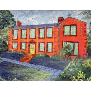 Haworth Parsonage Framed print