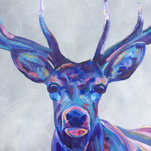 Highland Stag Original Artwork