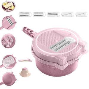 9-in-1 Multi Function Easy Food Chopper