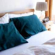 Teal Pillowcases