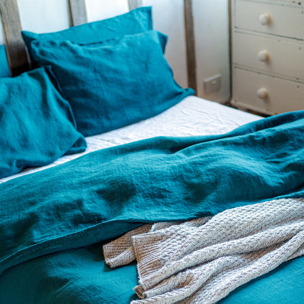 Teal Bedding Set