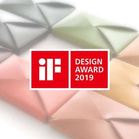 《TSUTSUMU》 business card holder wins `` iF Design Award 2019 ''