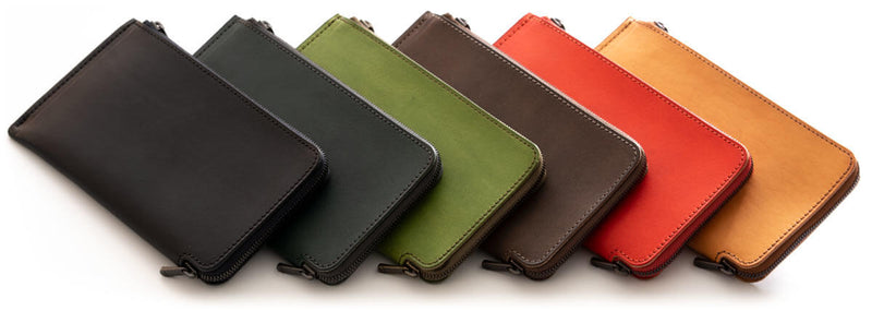 HITOELong wallet color lineup