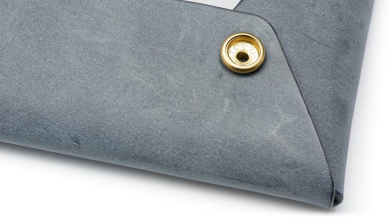 Hook hardware of leather document case