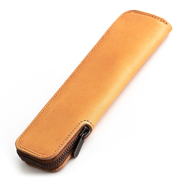 MEKURU Pen Case-Liscio-Small Pen Case for Easy Removal-Cammello
