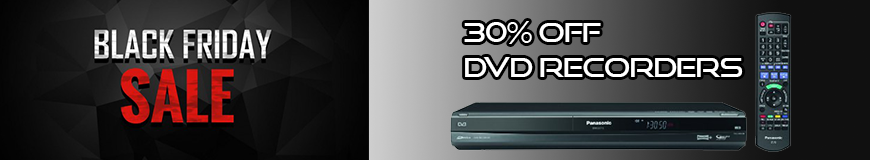 DVD Recorders Black Friday Special 30% Off!
