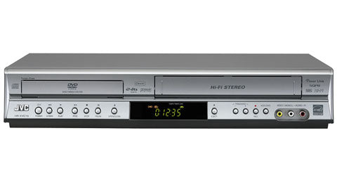 Premium Brand VHS VCR & DVD Video Combi Player - Fully Refurbished - S  - Electrovid - Electrovid