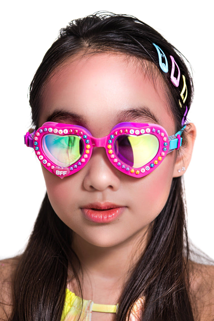 Love Letters Swim Goggles