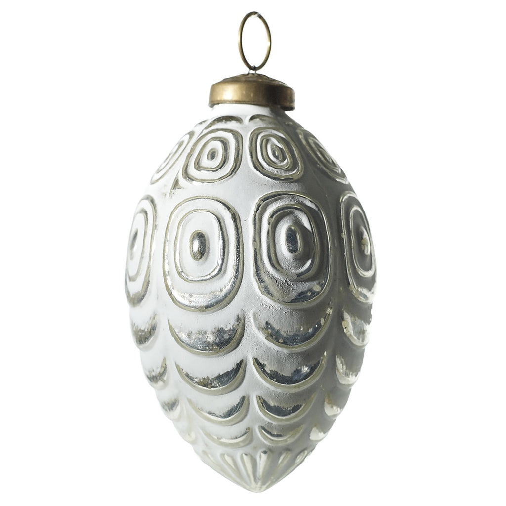 White Gild Ornament