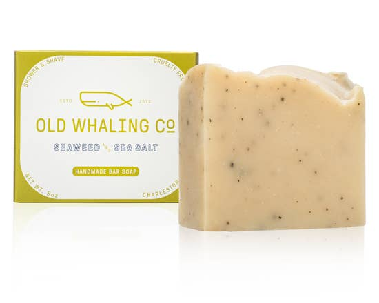 Seaweed + Sea Salt Bar Soap