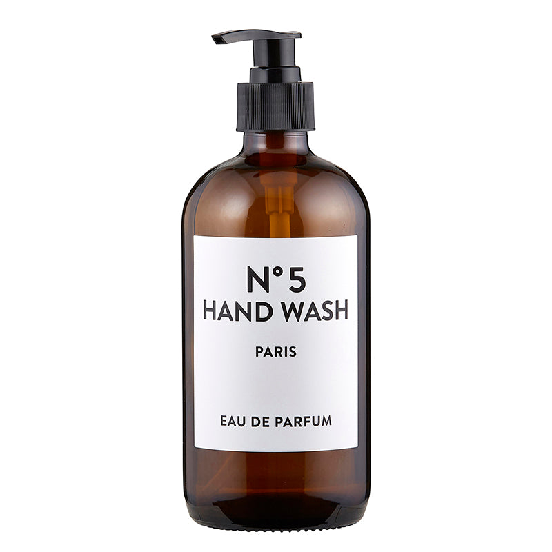 N0 5 AMBER BOTTLE - HAND WASH