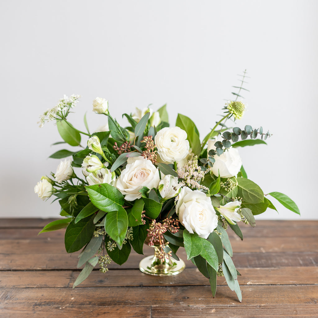 Whites - Statement Centerpiece