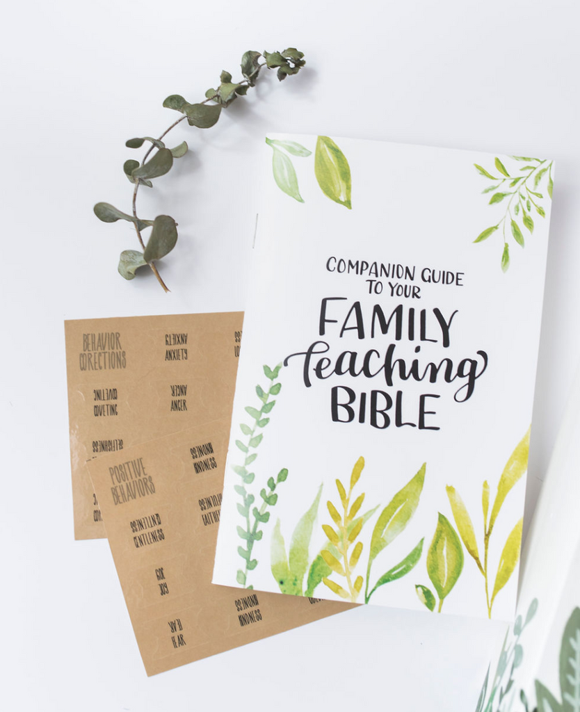 Companion Guide To Your Family Teaching Bible