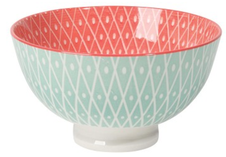 Stamped Bowl - Geometric