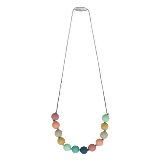 Rainbow Teething Necklace