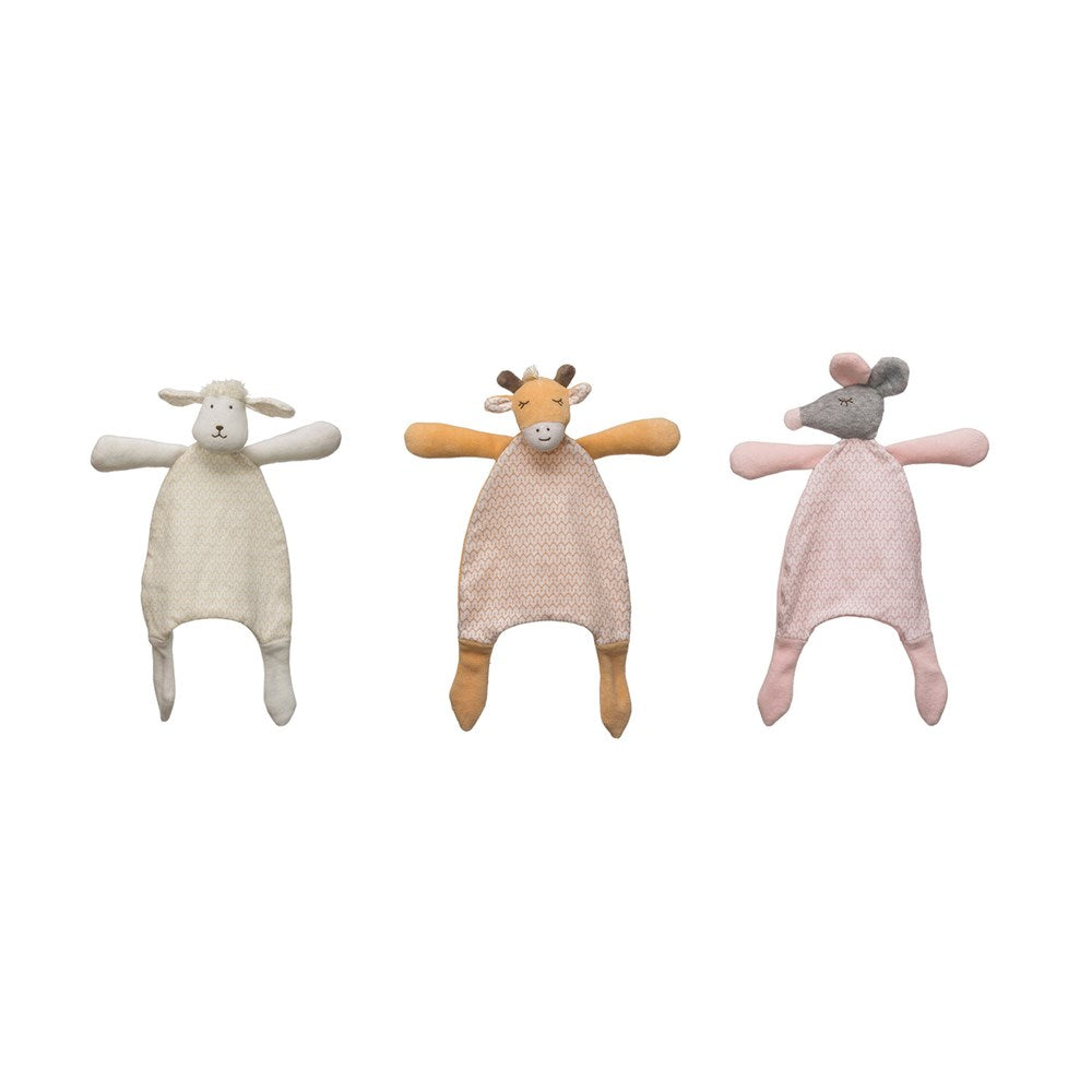 Plush Snuggle Toy, 3 Styles