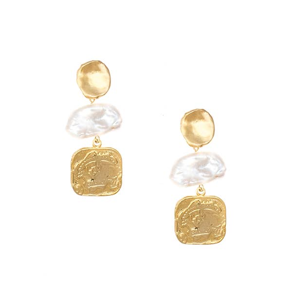 Olivia Pearl Statement Earrings