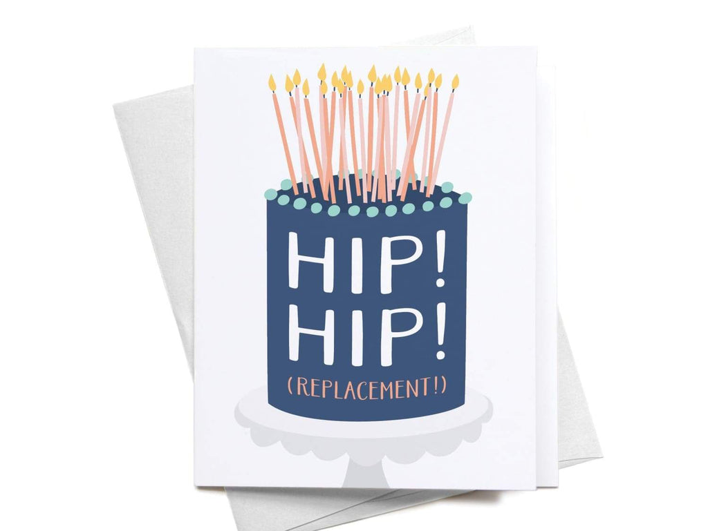 Hip! Hip! (Replacement) Greeting Card - onderkast-studio