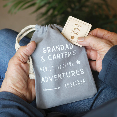 Personalised Adventures For Grandad And Me