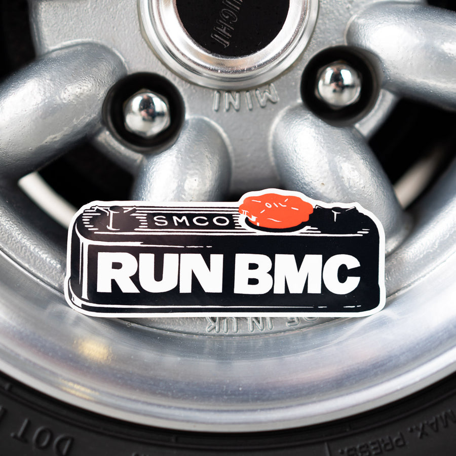 RUN BMC Valve Cover Sticker