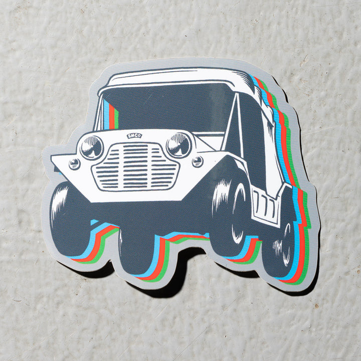Stay Moke Sticker