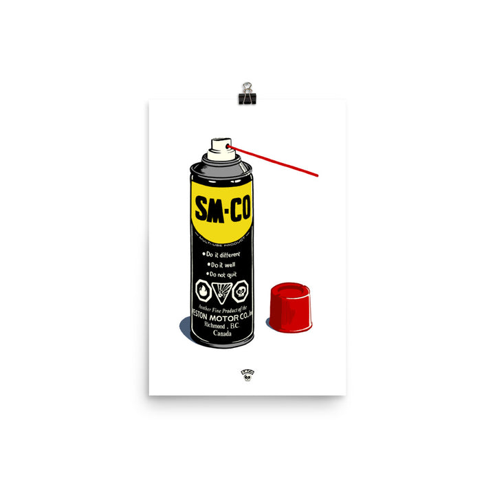 WD-40 Poster