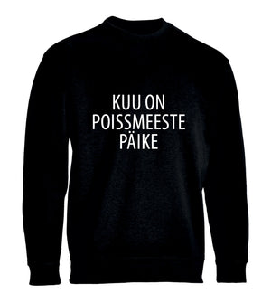 pusa KUU ON POISSMEESTE PÄIKE