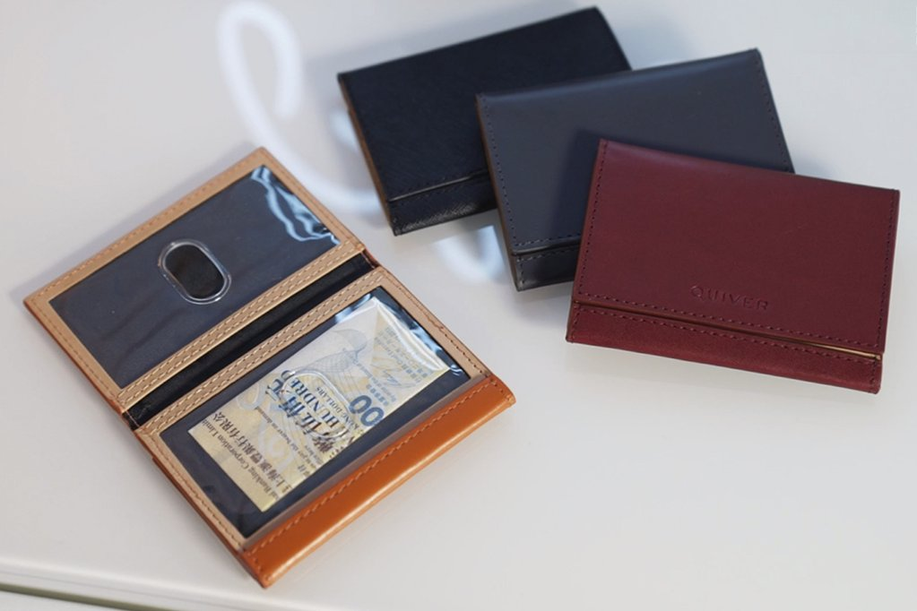 Modern Z-Fold Wallet by Quiver