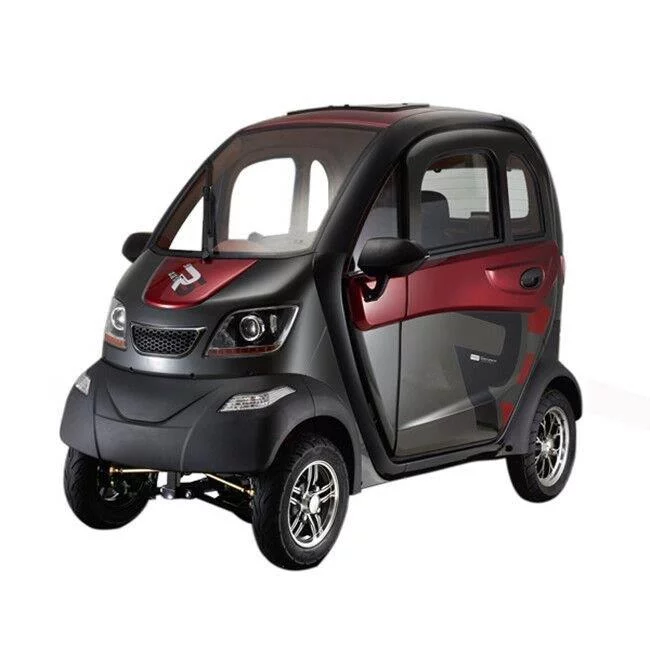 Q Runner 4 Wheel Fully Enclosed Scooter