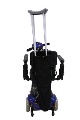 Crutch Holder for Scooters & Power Chairs (Without Push Handles)
