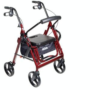 Drive Medical Duet Transport Chair and Rollator