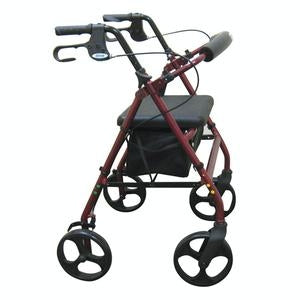 "Drive Medical Aluminum Rollator w/8"" Casters"