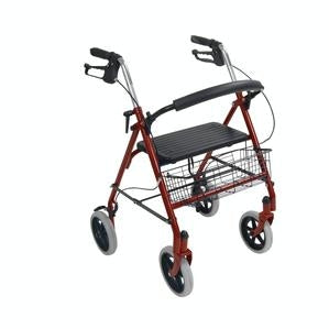 "Drive Medical Steel Rollator with 8"" Casters"