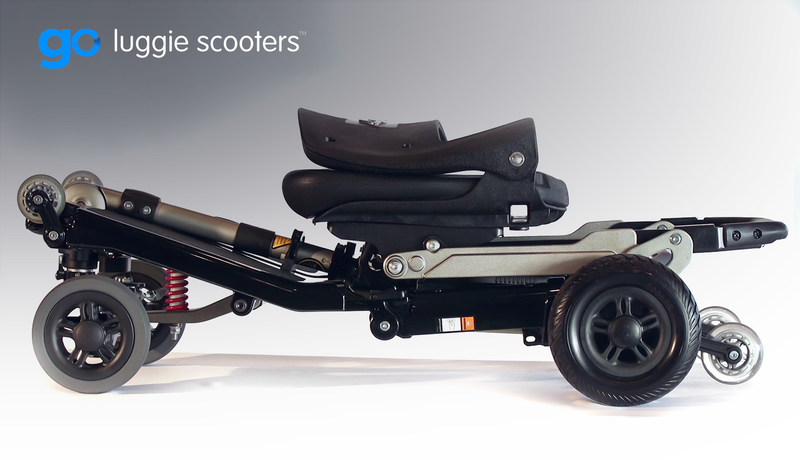 2020 Luggie Elite Plus 3 Scooter with Suspension