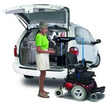Harmar AL420 Fully Powered Inside Scooter Lift