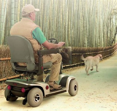 Invacare Leo 4 Wheel Electric Scooter