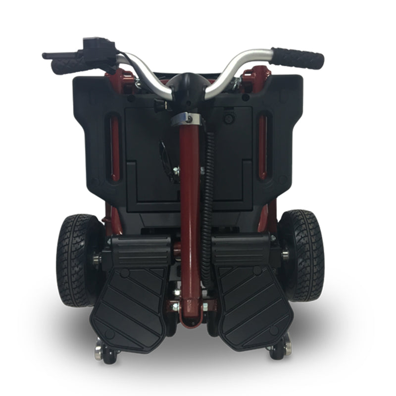 EV Rider MiniRider Folding Back Angle Folded Red