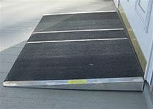 PVI Self Supporting Threshold Ramps