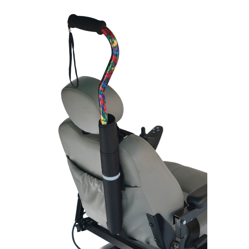 Cane holder for Scooters & Powerchairs