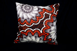 16x16 in. Ankara Throw Pillows