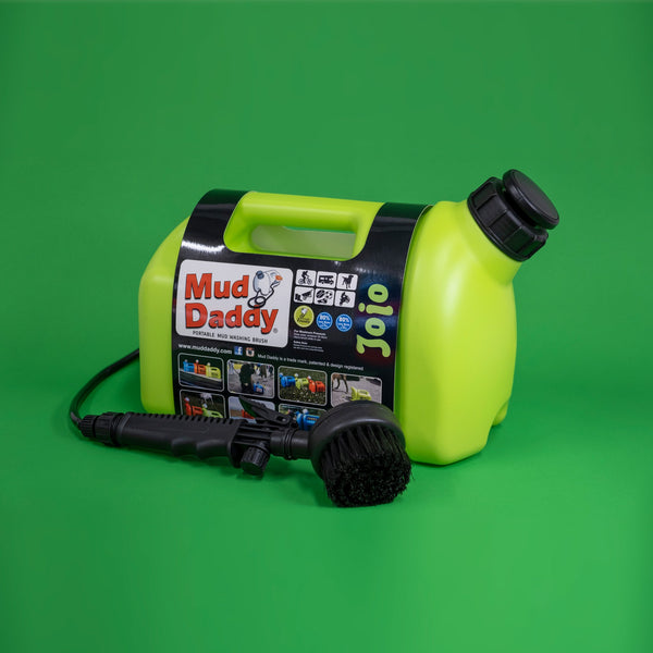 mud daddy portable dog shower