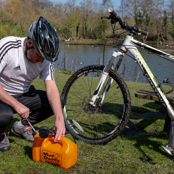 portable bike washer