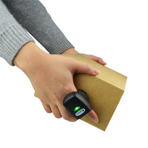 Cordless Bluetooth Ring Barcode Scanner FS03-EB