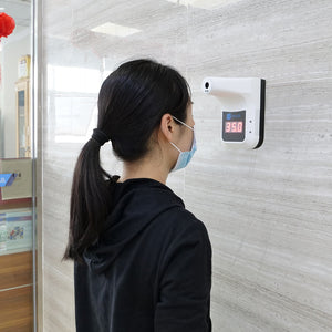 wall mount non-contact infrared thermometer