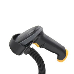 Wired Handheld Bar Code Scanner HS20 with Base  for POS PC Laptop and Computer