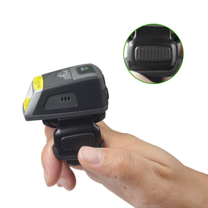 Wireless Bluetooth Ring Barcode Scanner Android
